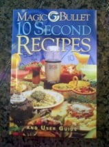 Recipe Book 10 Second Recipes
